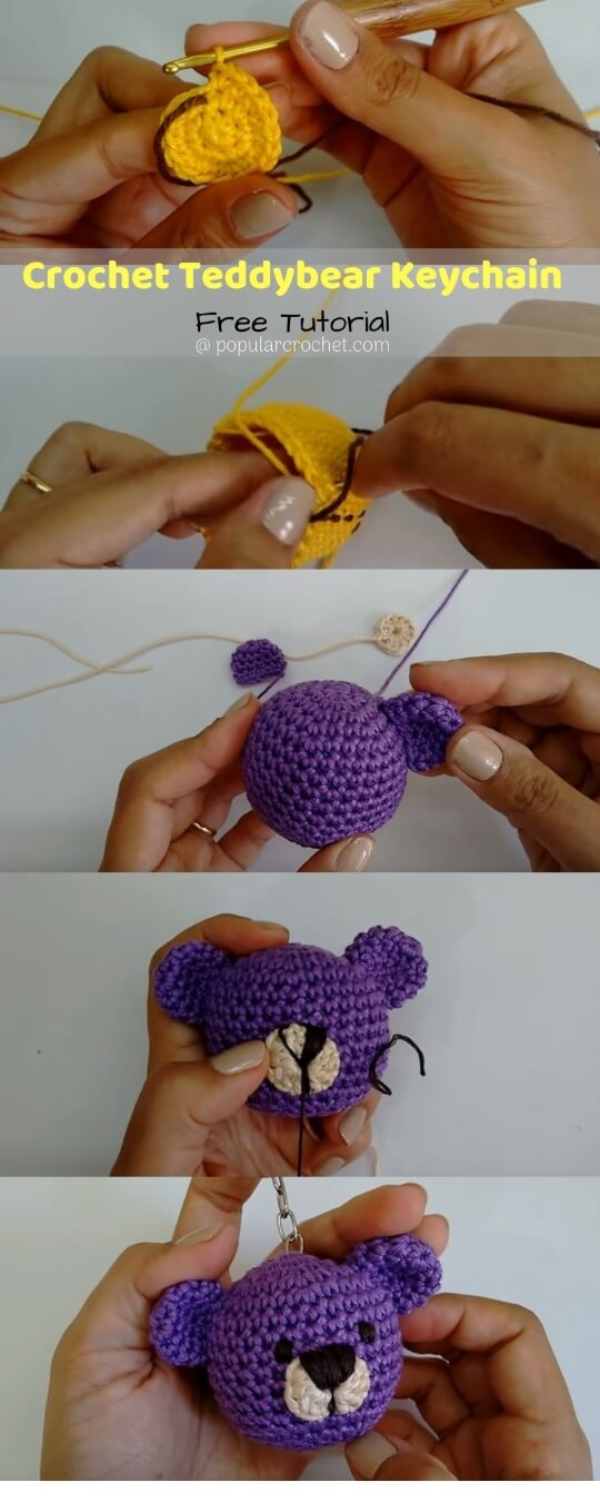 15 Free Must-Make Amigurumi Keychains for Bags, Purses, and Keys ... | 1350x540