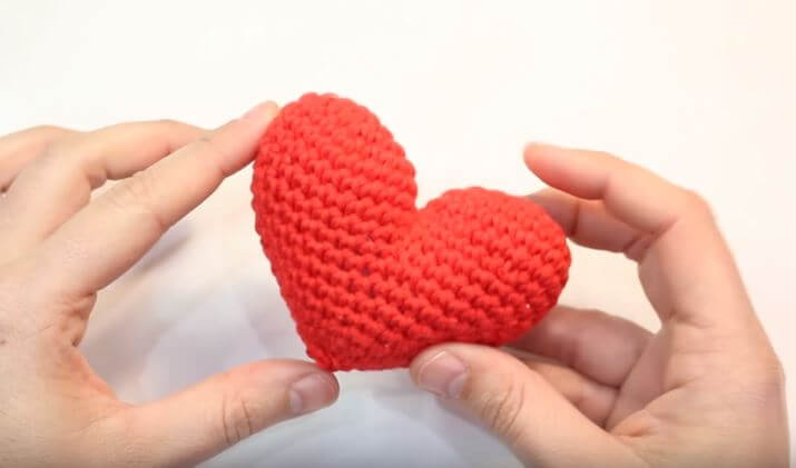 Heart Shaped Crochet