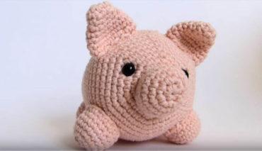 Pink Piggy Amigurumi