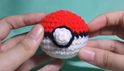 Pokeball crochet