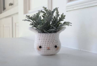 Cute Bunny Plant Crochet