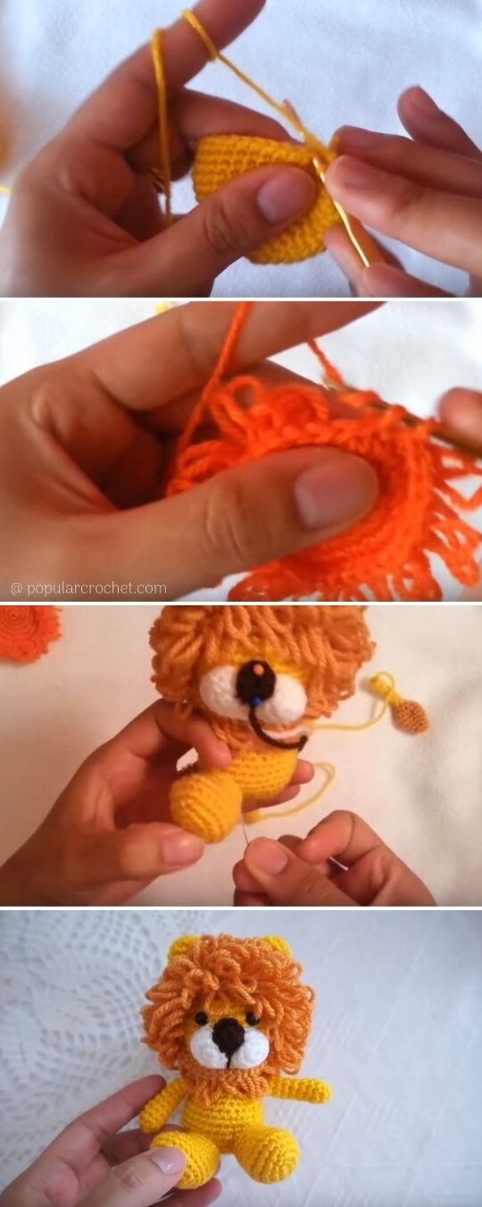 Amigurumi Lion Crochet