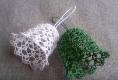 Crochet Bell Ornament 10