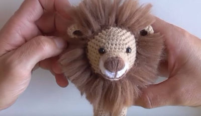 León the Lion Amigurumi