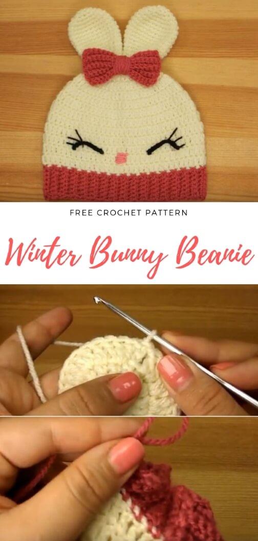 Winter Baby Beanie popularcrochet.com #crochet #beanie #baby