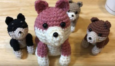 Cute Amigurumi Dog