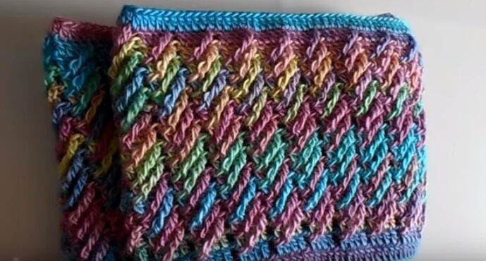 Colorful Crochet Wallet 3