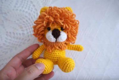 Amigurumi Lion
