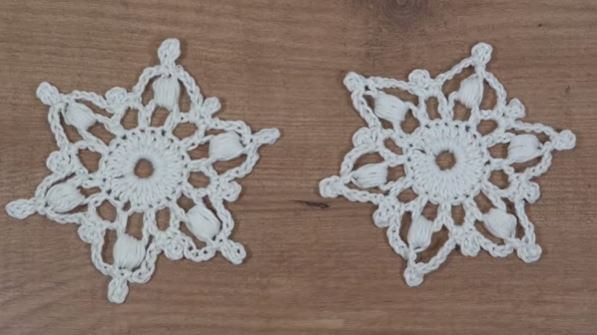 Crochet Snowflake 16