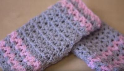 Crochet Wrist Warmers 4