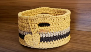 Crochet Basket 2