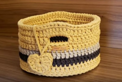 Crochet Basket 8