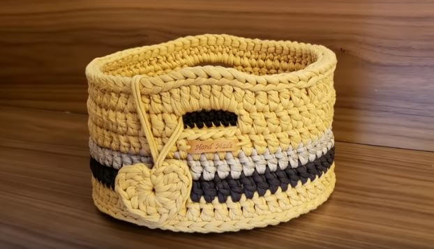 Crochet Basket 4