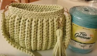 Crochet Clutch Bag 5