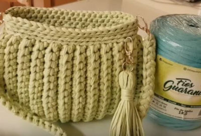 Crochet Clutch Bag 7
