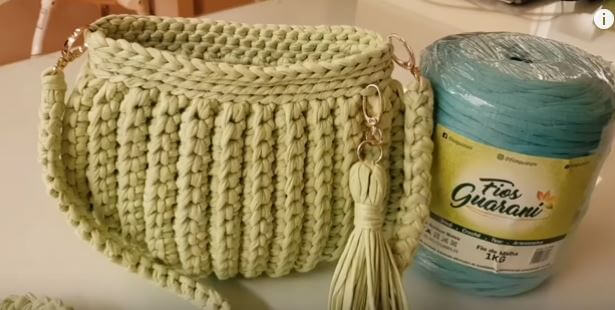 Crochet Clutch Bag 6
