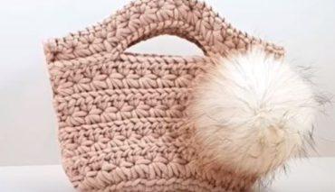 Crochet handbag 3