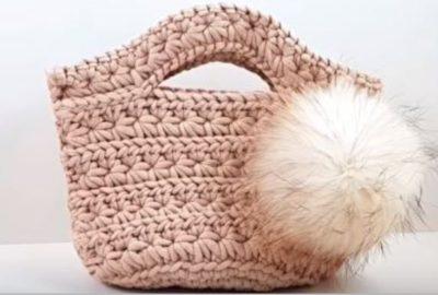 Crochet handbag 1