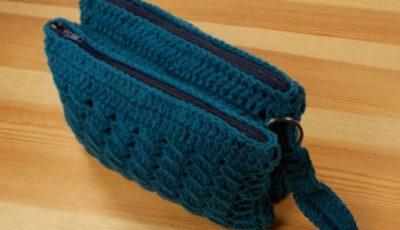 Double Makeup Crochet Bag 3