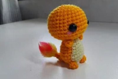 Crochet Charmander Amigurumi 2
