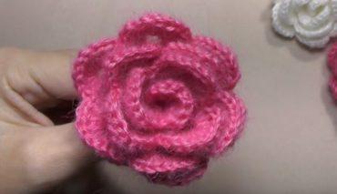 Rose Crochet 9
