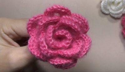 Rose Crochet 1