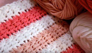 How to crochet Star stitch 4