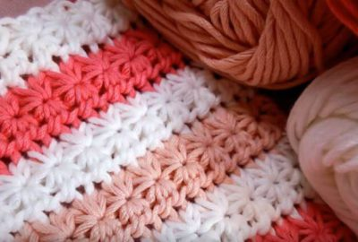 How to crochet Star stitch 4