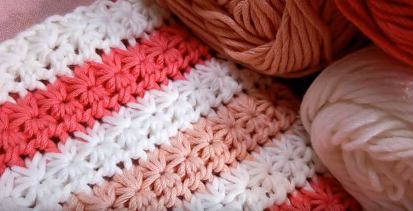 How to crochet Star stitch 2