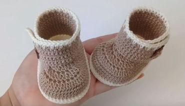 Crochet Baby Boots 2