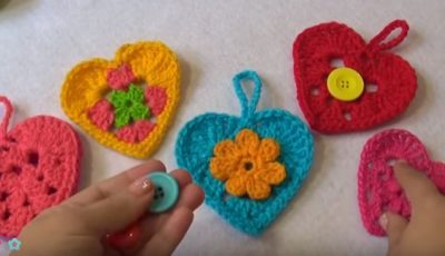 Crochet a Heart for your Valentine 3