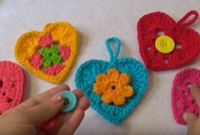 Crochet a Heart for your Valentine 10