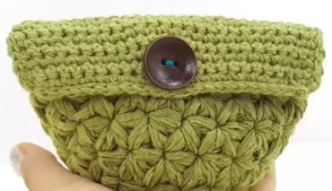 Jasmine Crochet Stitch Mini Pouch 4