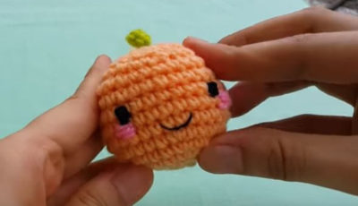 Orange Amigurumi for beginners 1