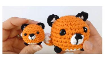 Mini fox Amigurumi 3