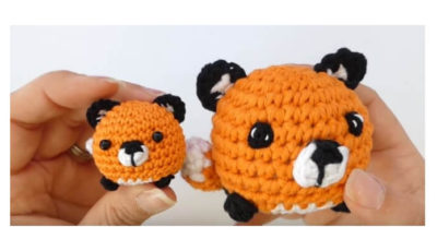 Mini fox Amigurumi 5