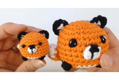 Mini fox Amigurumi 3