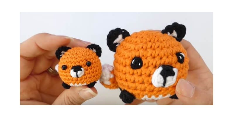 Mini fox Amigurumi 24
