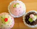 How to crochet cupcakes 4