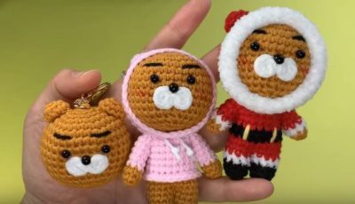 Crochet Kakao friends Ryan 4