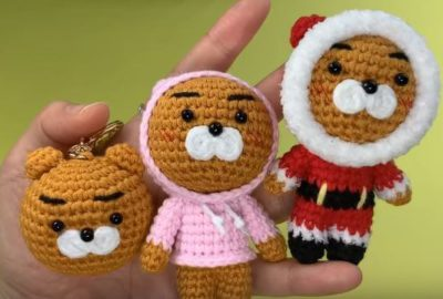 Crochet Kakao friends Ryan 8