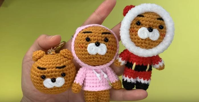 Crochet Kakao friends Ryan 7