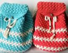 How to crochet a backpack 6