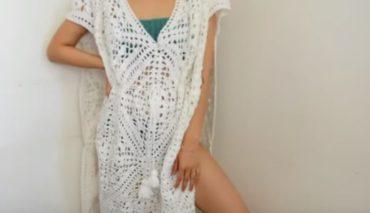 Crochet Beach Cover Up 3
