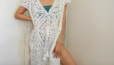 Crochet Beach Cover Up 2