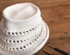 How to crochet a Summer Hat 9