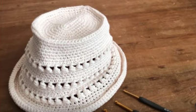 How to crochet a Summer Hat 2